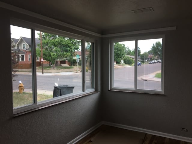 Interior Window Finish Caulking