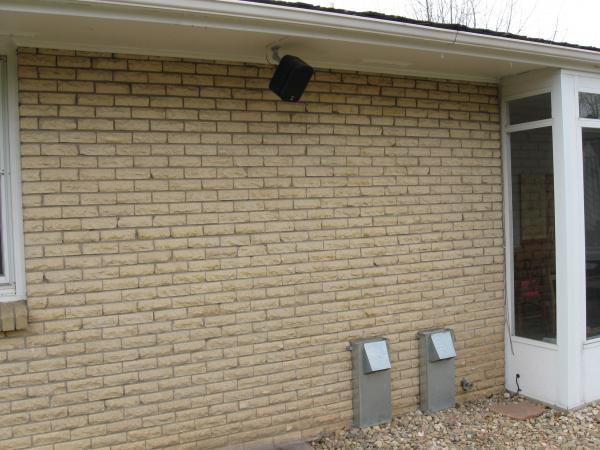 Exterior Brick Before Photo