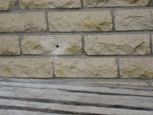 Drill Hole Through Brick